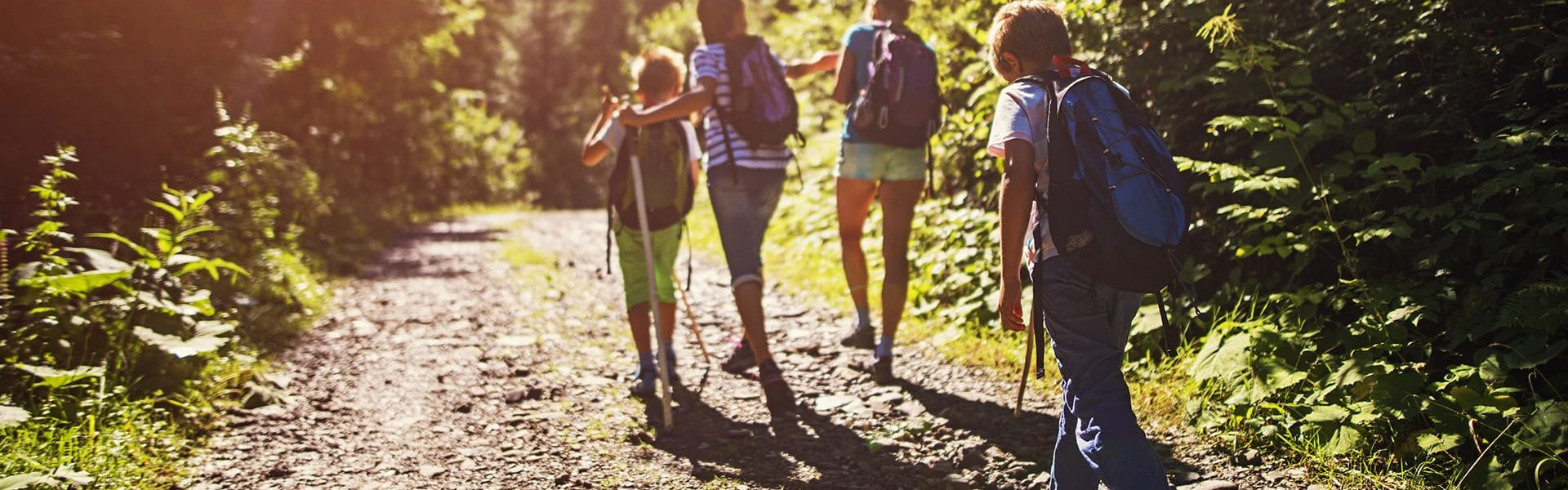 family-hiking-banner