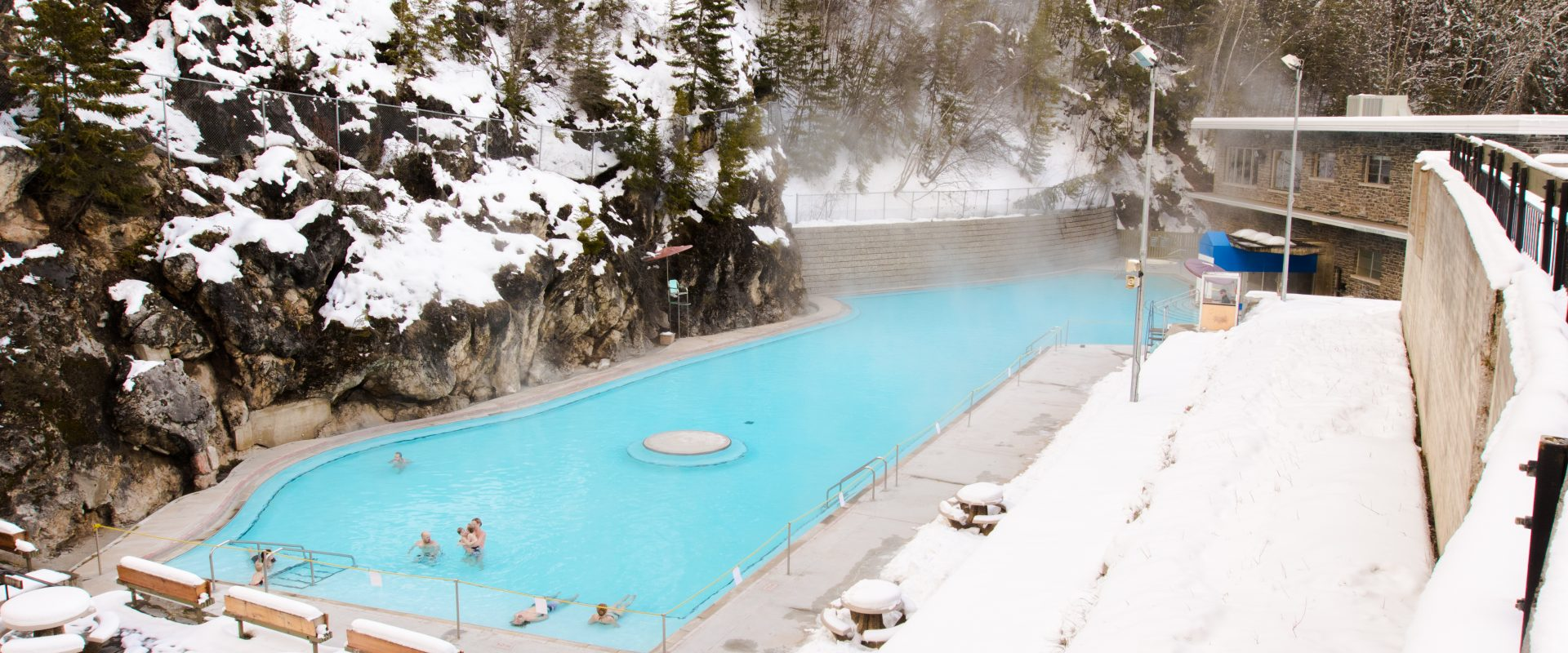 Hot Pools Winter