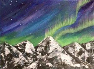 Paint Night with Blackstar Studios @ Forster Meeting Room - Bighorn Meadows Resort