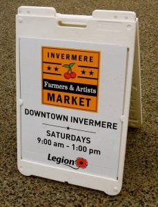 Invermere Farmers & Artists Market @ Downtown Invermere